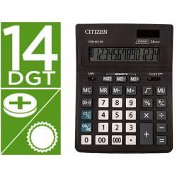 Calculadora Citizen Business line 200x157x35 mm Eco Solar y pilas con 14 Digitos