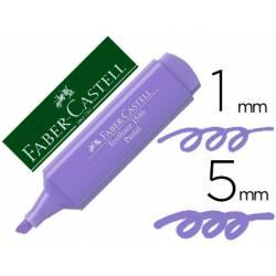 Rotulador Faber Castell fluorescente 1546 pastel lila