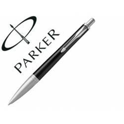 Bolígrafo Parker Urban Premium Ebony Punta 1mm Tinta Azul Color Negro