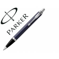 Bolígrafo Parker PK IM CT Tinta Azul Punta 1mm Color Azul Mate