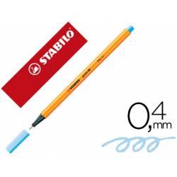 Rotulador Stabilo Point 88 Color Azul claro