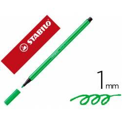 Rotulador Stabilo 68/033 1 mm Color Verde neón