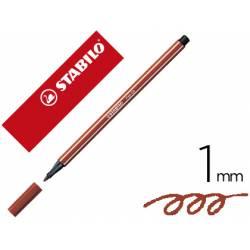 Rotulador Stabilo 68/38 1 mm Color Rojo Sanguina