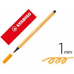 Rotulador Stabilo 68/30 1 mm Color Naranja