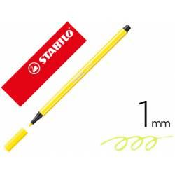 Rotulador Stabilo 68/24 1 mm Color Amarillo limón