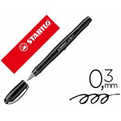 Rotulador Stabilo Roller Black 0.3 mm Color Negro