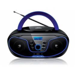 Radio Reproductor Daewoo 30,3x20,5x14,3 cm con CD y MP3 con USB