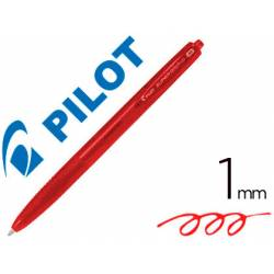 Boligrafo Pilot Super Grip G Rojo 0,4mm retráctil