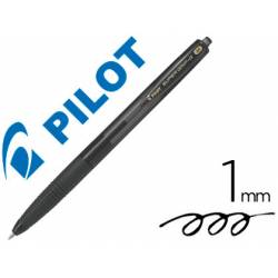 Boligrafo Pilot Super Grip G Negro 0,4 mm retráctil