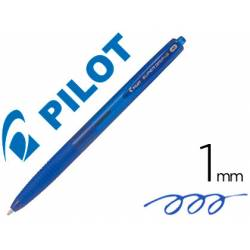 Boligrafo Pilot Super Grip G Azul 0,4 mm retráctil