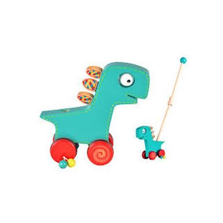 Juego para bebes a partir de 1 año Arrastre Dinosaurio Fiesta Crafts