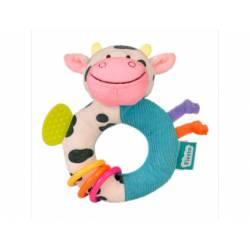 Juego para bebes Sonajero Mordedor Vaca Fiesta Crafts