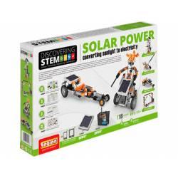 Juego de construccion a partir de 8 años Energia solar Engino