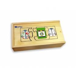 Puzzle Secuencias Temporales 30 piezas a partir de 3 años Andreutoys