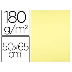 Cartulina Liderpapel color Amarillo Medio 50x65 cm 180 gr 25 unidades