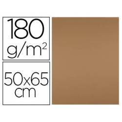 Cartulina Liderpapel color Marron Escolar 50x65 cm 180 gr 25 unidades