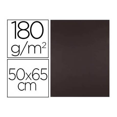 Cartulina Liderpapel color Marron 50x65 cm 180 gr 25 unidades