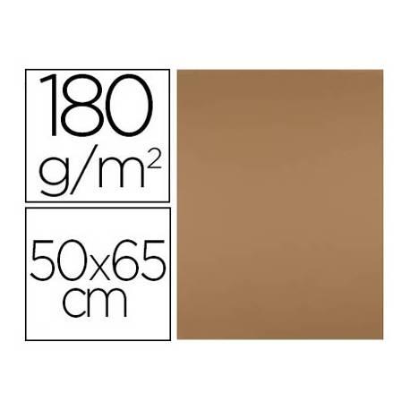Cartulina Liderpapel color Marron 50x65 cm 180 gr