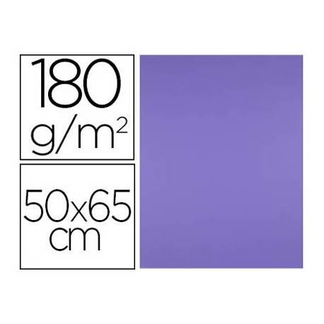 Cartulina Liderpapel color Purpura 50x65 cm 180 gr