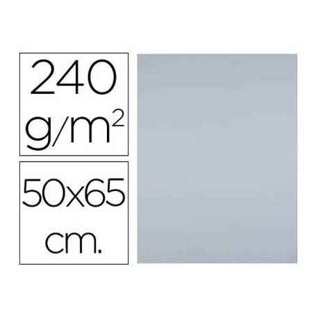 Cartulina Liderpapel color Gris 50x65 cm 180 gr