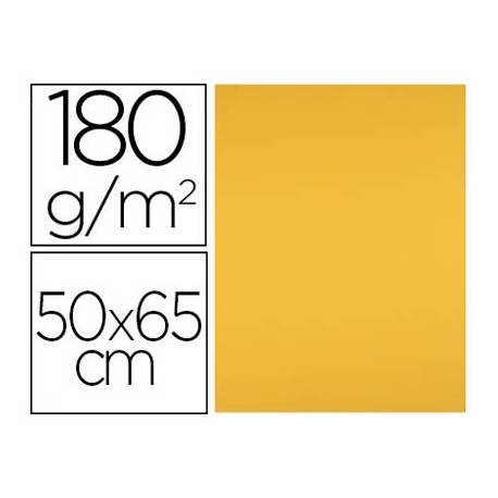 Cartulina Liderpapel color Oro Viejo 50x65 cm 180 gr