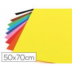 Goma eva Ondulada Liderpapel 50x70 cm colores surtidos