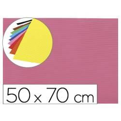 Goma eva Ondulada Liderpapel 50x70 cm color Rosa