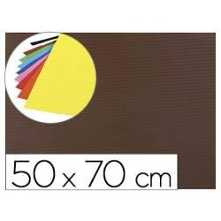 Goma eva Ondulada Liderpapel 50x70 cm color Marrón