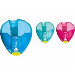 Sacapuntas Plastico Maped I-Gloo 1 uso con Deposito de Colores Surtidos