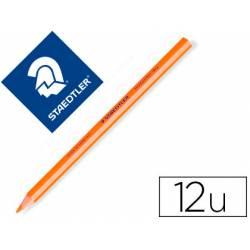 Lapices Fluorescentes Staedtler Triangular Top Star Naranja Caja de 12 unidades