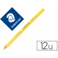 Lapices Fluorescentes Staedtler Triangular Top Star Amarillo Caja de 12 unidades