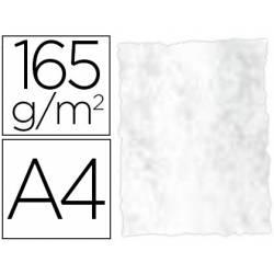 Papel Pergamino Liderpapel DIN A4 165g/m2 Color Gris Pack de 25 Hojas Con Bordes