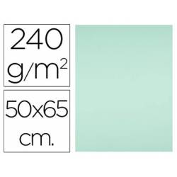 Cartulina Liderpapel Verde 50x65 cm 240 gr Paquete de 25 unidades