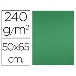 Cartulina Liderpapel Verde Navidad 50x65 cm 240 gr Paquete de 25 unidades