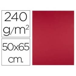 Cartulina Liderpapel Rojo Navidad 50x65 cm 240 gr Paquete de 25 unidades