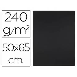 Cartulina Liderpapel Negra 50x65 cm 240 gr Paquete de 25 unidades