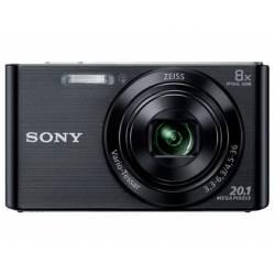 Cámara digital Sony DSCW830B Negra de 20,1 MPX Zoom Optico 8X