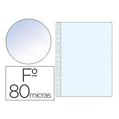 Funda Multitaladro Esselte Tamaño Folio Cristal 16 taladros 80 MC