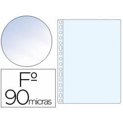 Funda Multitaladro Saro Tamaño Folio Cristal 16 taladros 90 MC