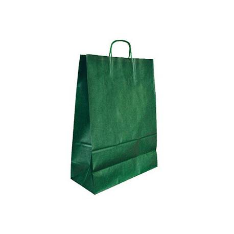 Bolsa Kraft Q-connect Verde de 270x120x360 mm