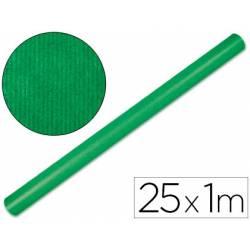 Bobina Papel Kraft Liderpapel de 25x1 m Verde fuerte
