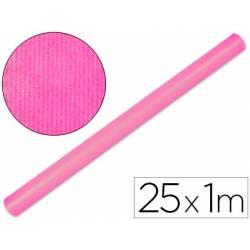 Bobina Papel Kraft Liderpapel de 25x1 m Rosa