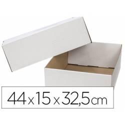 Caja para Embalar Q-Connect de 44x15x32,5 cm con Tapa Doble Canal