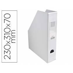 Revistero Plastico Exacompta color Blanco 310x230x70 mm