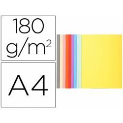 Subcarpeta Cartulina Reciclada DIN A4 Exacompta Colores Surtidos 170 gr