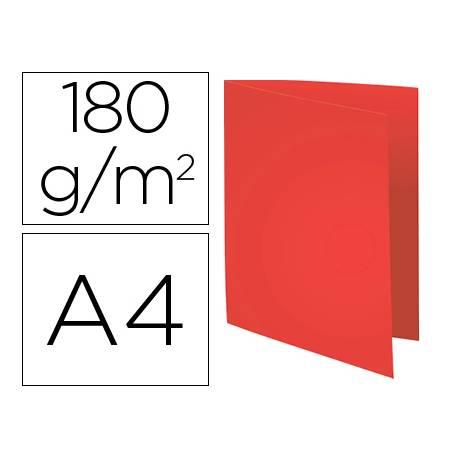 Subcarpeta Cartulina Reciclada DIN A4 Exacompta Rojo 170 gr