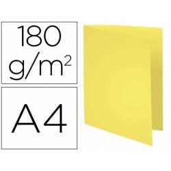 Subcarpeta Cartulina Reciclada DIN A4 Exacompta Amarillo 170 gr