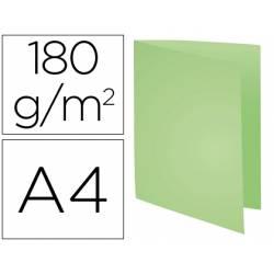 Subcarpeta Cartulina Reciclada DIN A4 Exacompta Verde 170 gr