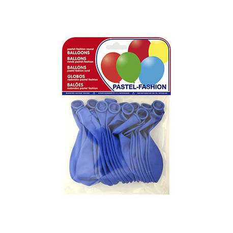 Globos Pastel Azul Medio Bolsa de 20 unidades