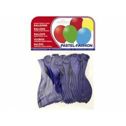 Globos Pastel Azul Marino Bolsa de 20 unidades